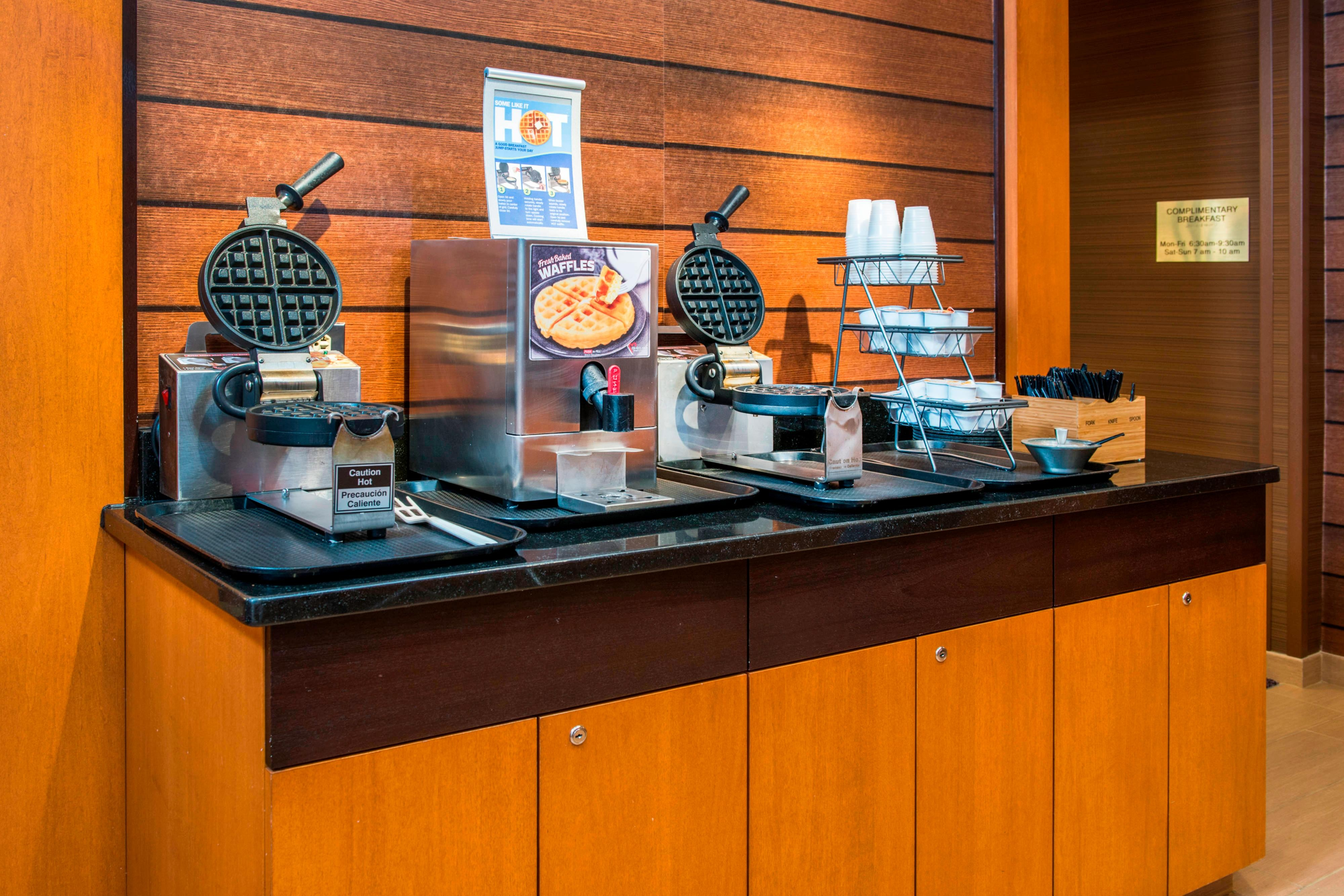 Frederick Fairfield Hotel Waffle Station