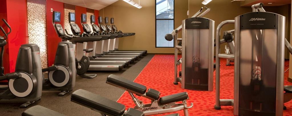 Fitnesscenter des Hotels in Greenbelt, MD