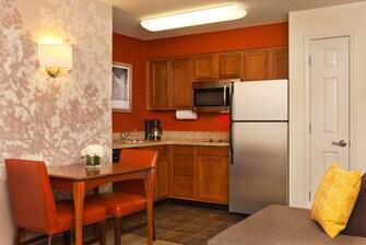 College Park suite kitchen