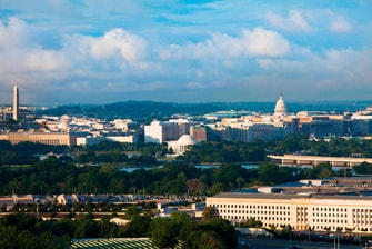 Hotel View of Washington DC