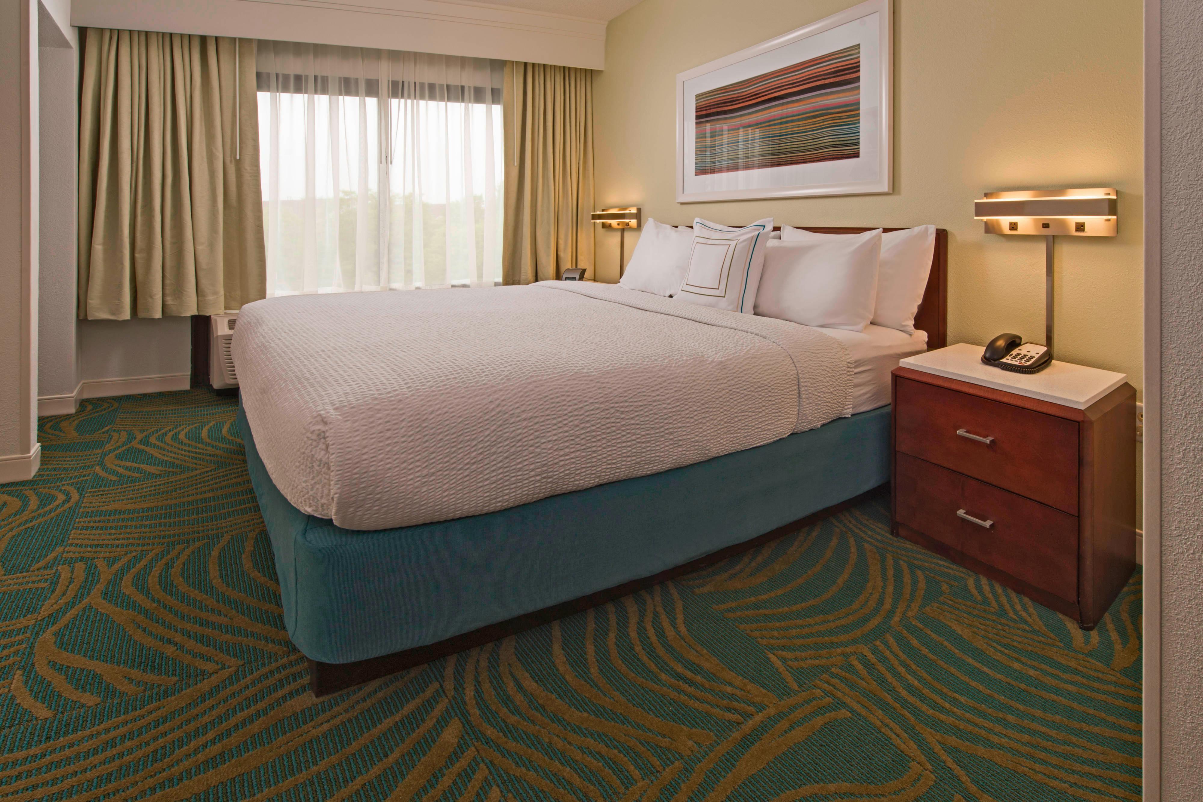 Dormitorio de la suite King