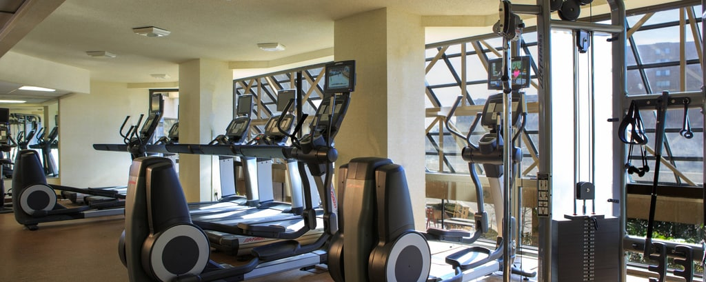 gimnasio del hotel en Crystal City, Virginia