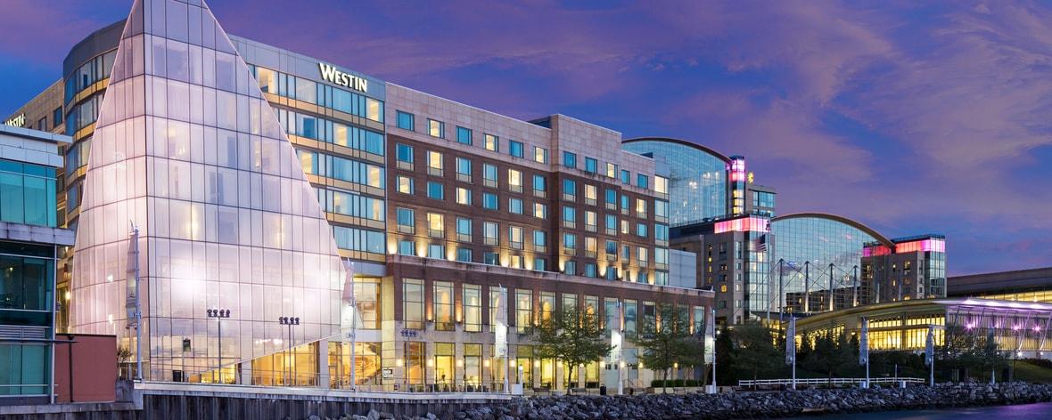 Hotels in National Harbor, Maryland   The Westin Washington
