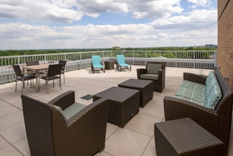 Junior Executive Suite Patio