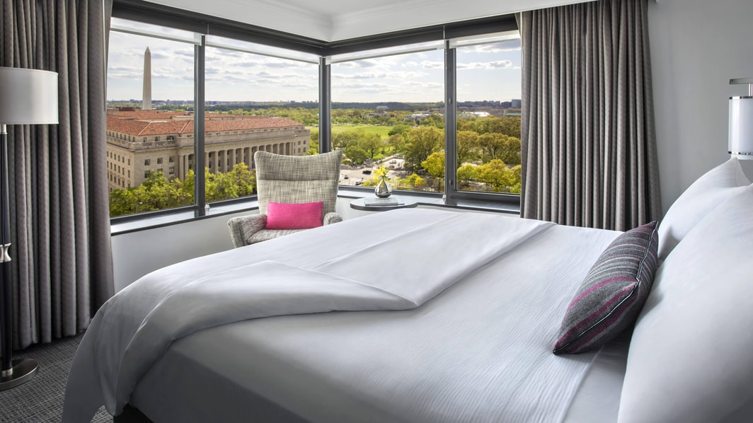 Washington room with a view