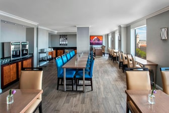 Lounge del Concierge en el centro de Washington D. C.
