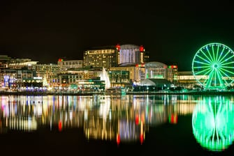 National Harbor Skyline