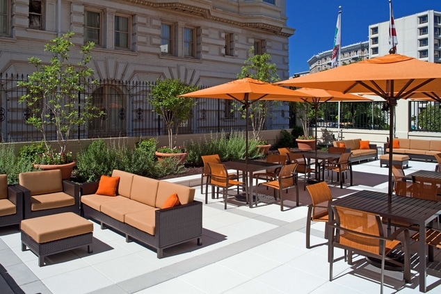 hotel dupont circle outdoor terrace