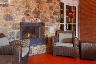 Woodbridge Virginia Outdoor Fireplace