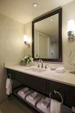 Arlington hotel king suite bathroom