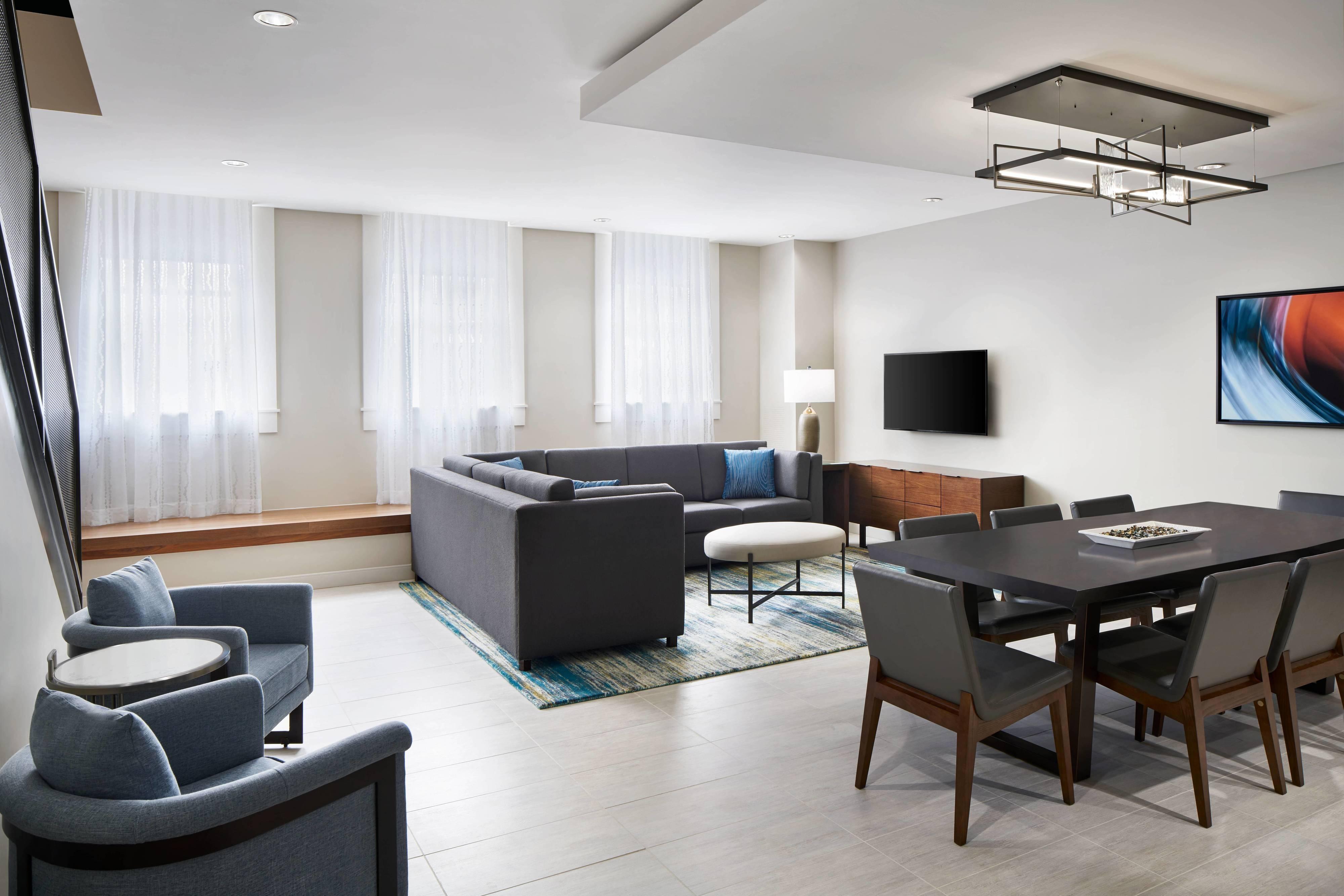 Люкс Hospitality– жилая зона