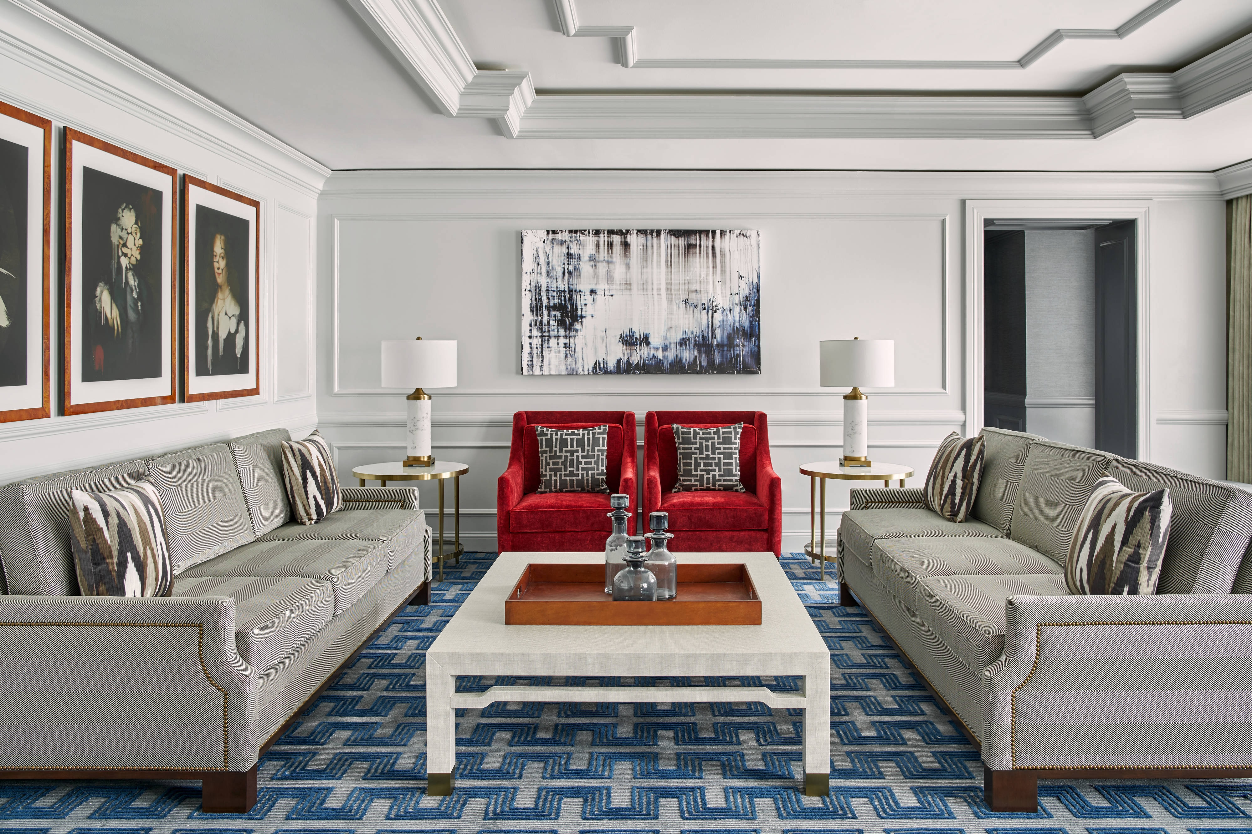Living Room of The Ritz-Carlton Suite