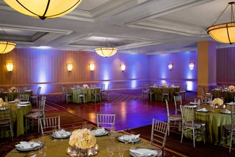 Diamond Ballroom - catering setup