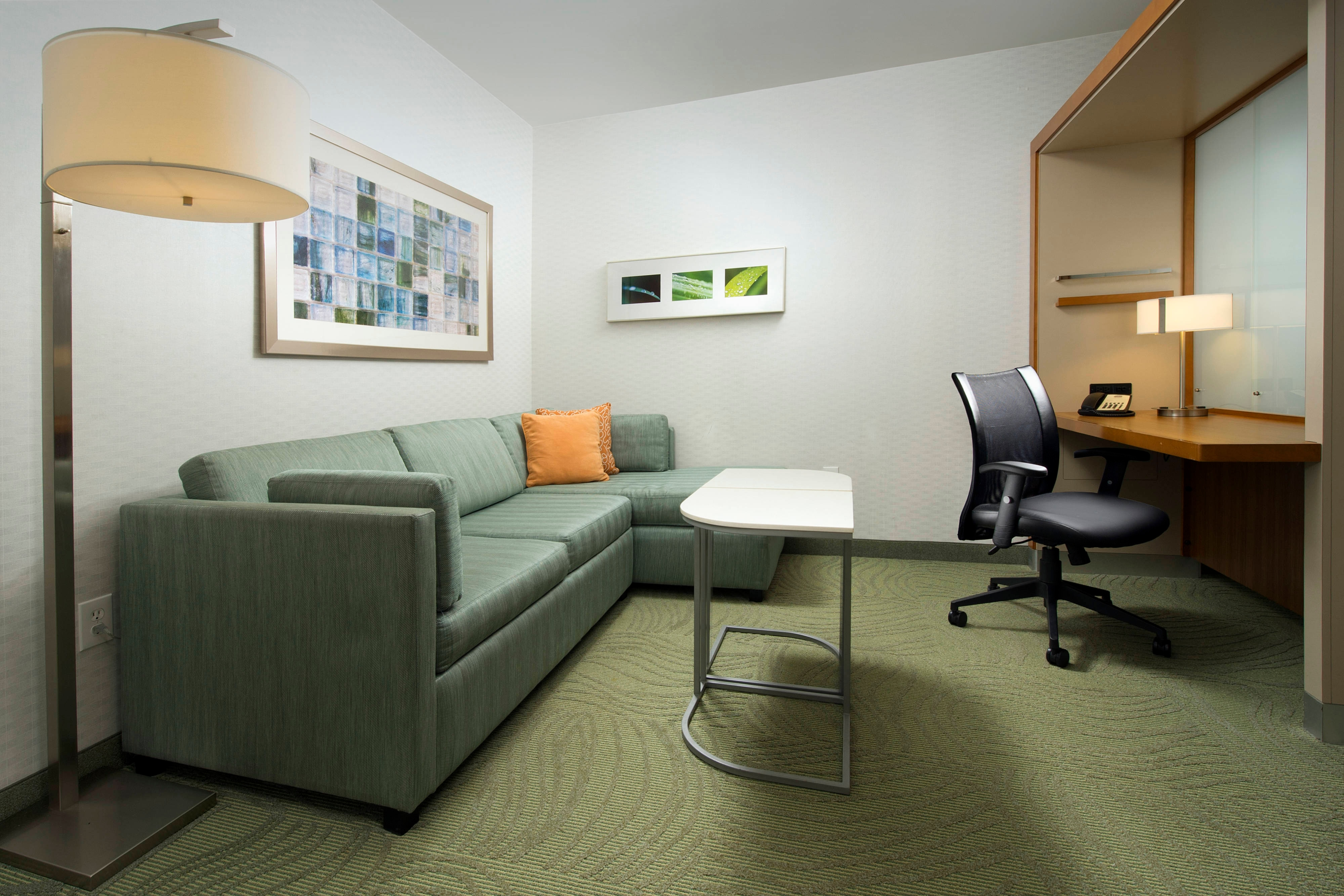 Pull Out Sofa and Desk near Potomac Mills Shopping