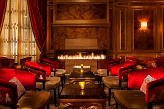 St. Regis Bar Fireplace