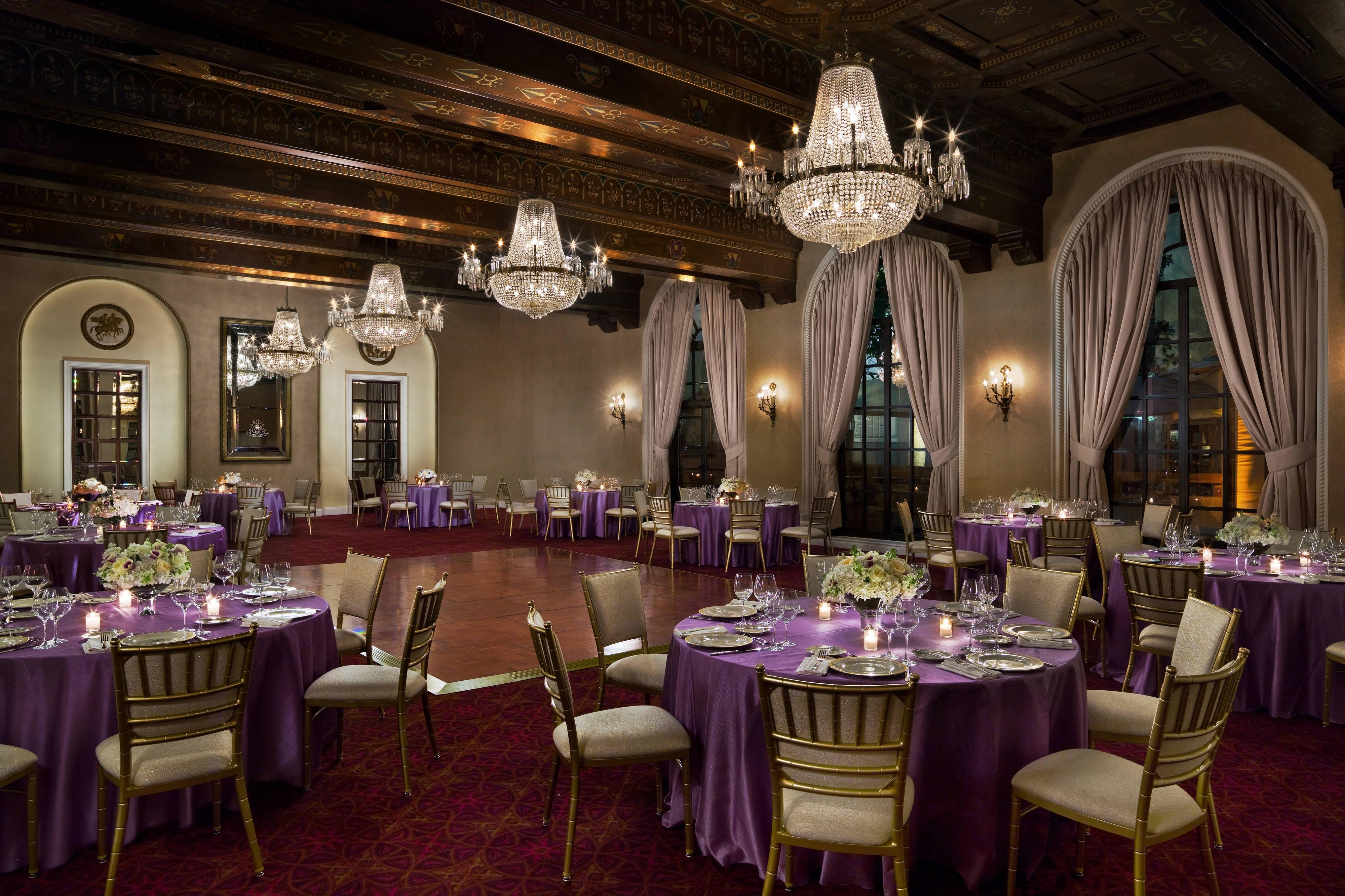Astor Ballroom Elegant Dinner