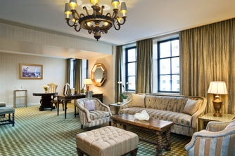 Empire Suite - Parlor Area