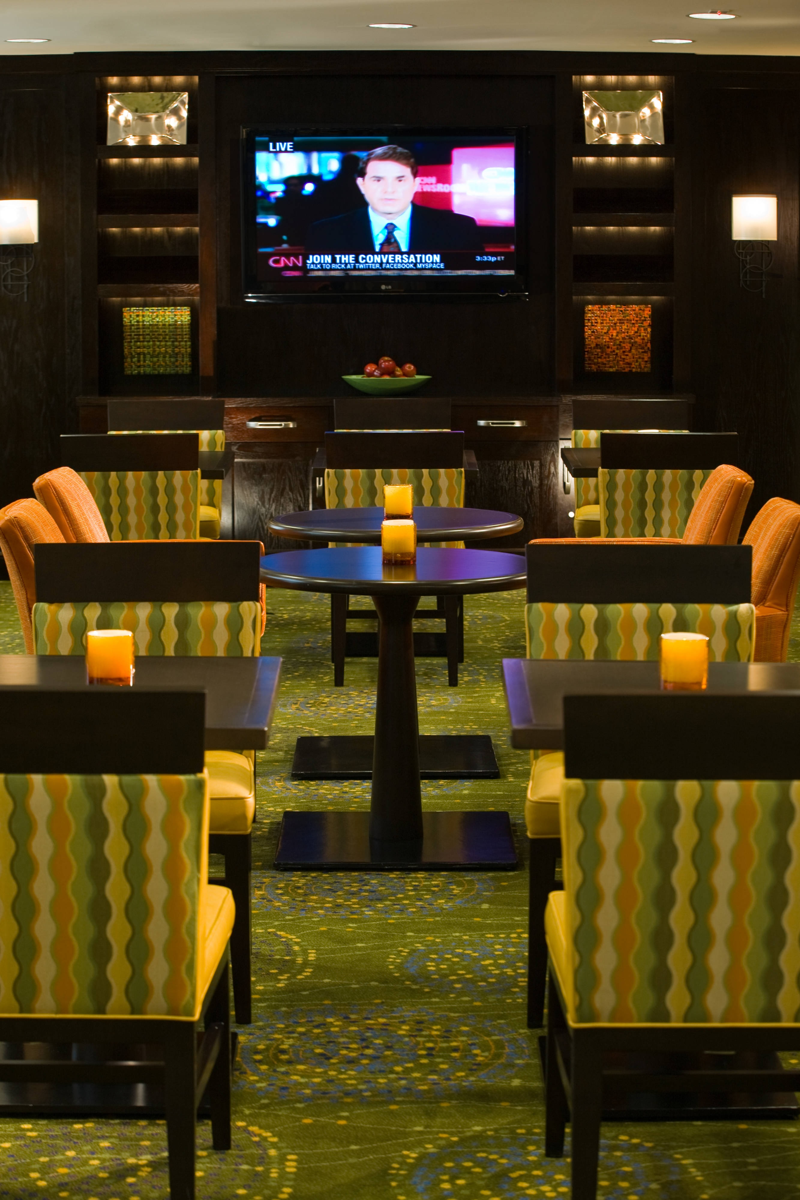 Concierge lounge in Tysons Corner