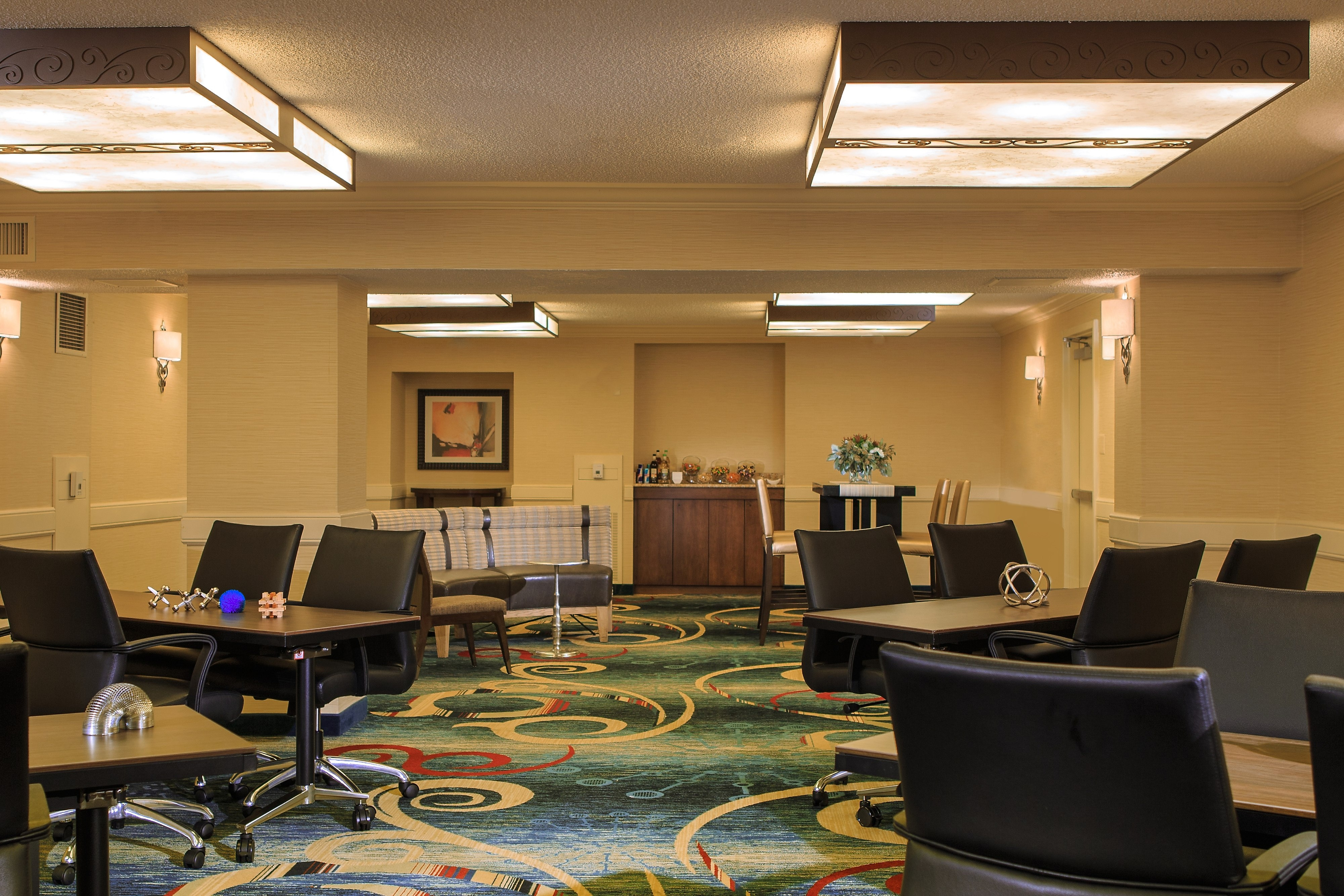 Fairfax County hotel meeting room