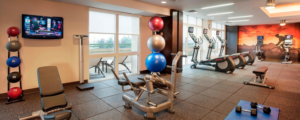 Fitness Center - Hanteln
