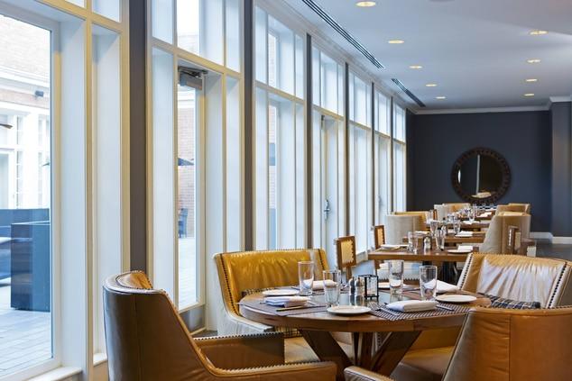 Restaurant seating area College Park