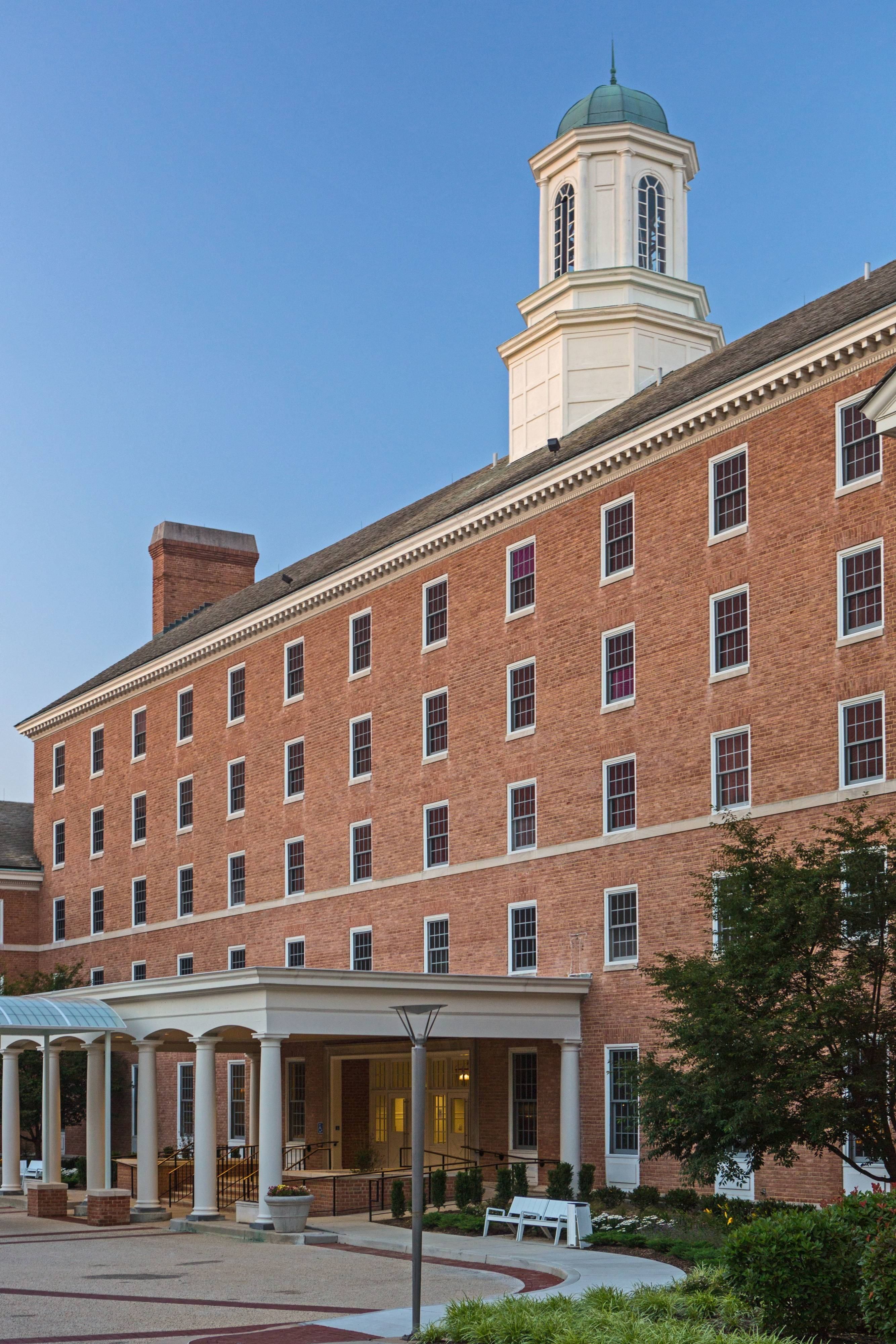 College Park Maryland hotel exterior