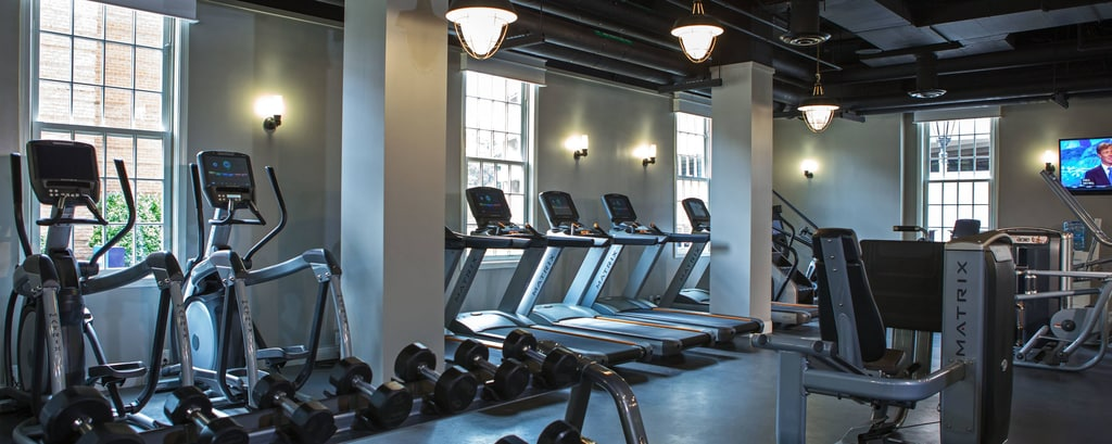 University of Maryland hotel gym
