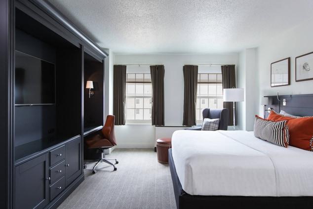 College Park Marriott Guest Room