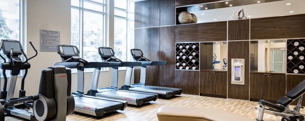 Modernly Appointed Fitness Center