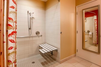 Woodbridge Virginia Roll-in Shower