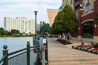 Gaithersburg Maryland hotel near boardwalk