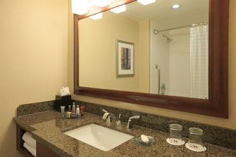 Montgomery County hotel guest bathroom