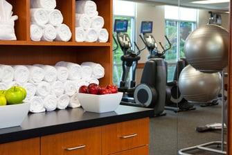 Fitness center in Gaithersburg hotel