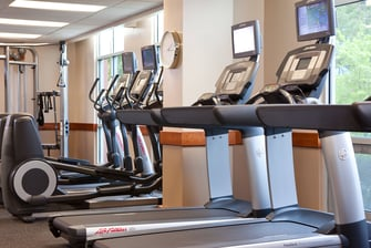 Gaithersburg hotel fitness center