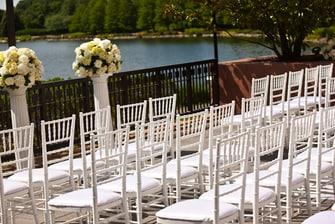 Gaithersburg Maryland outdoor wedding venue