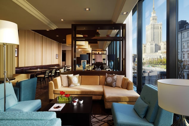 Warsaw hotel executive lounge