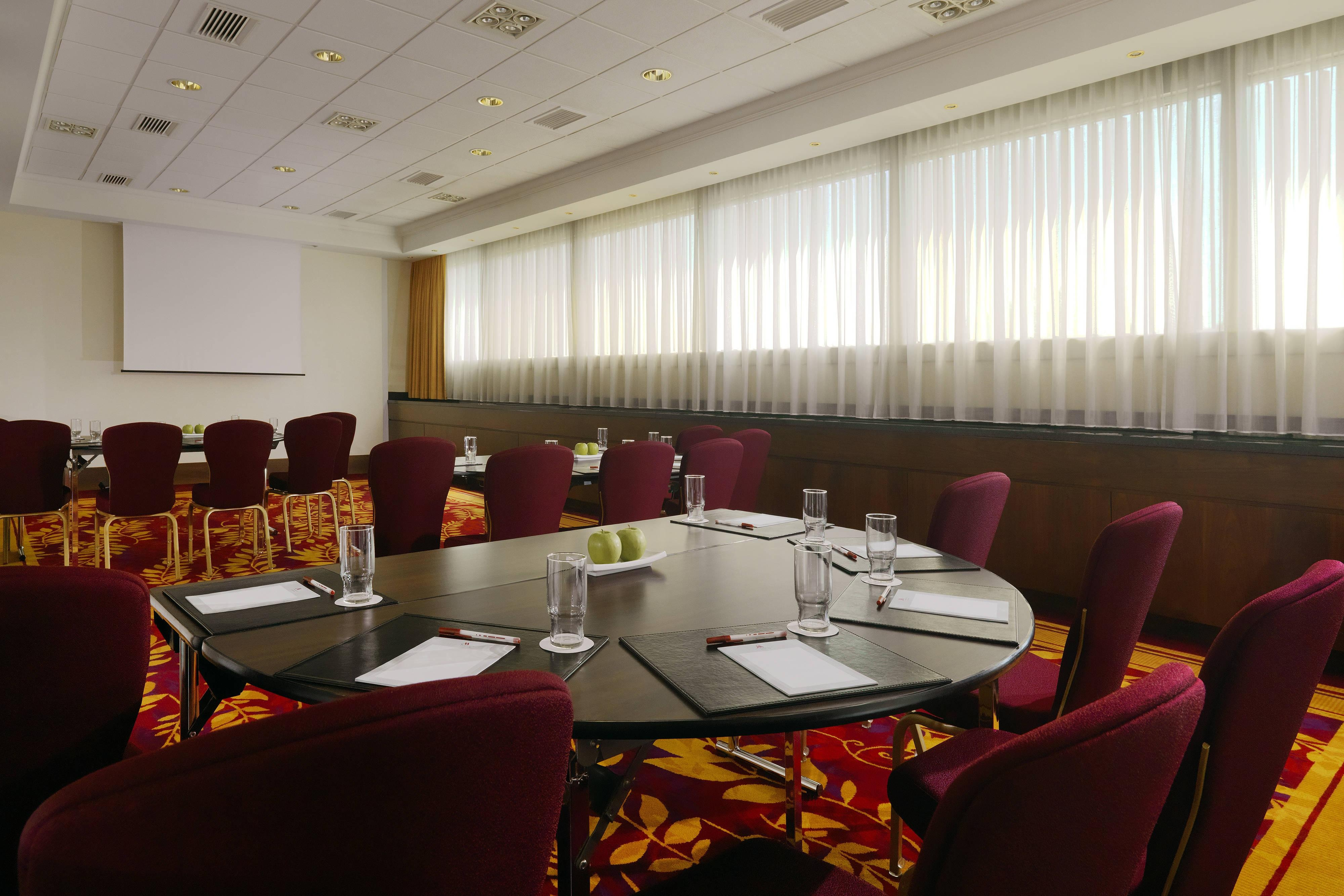 Meeting room in Warsaw hotel