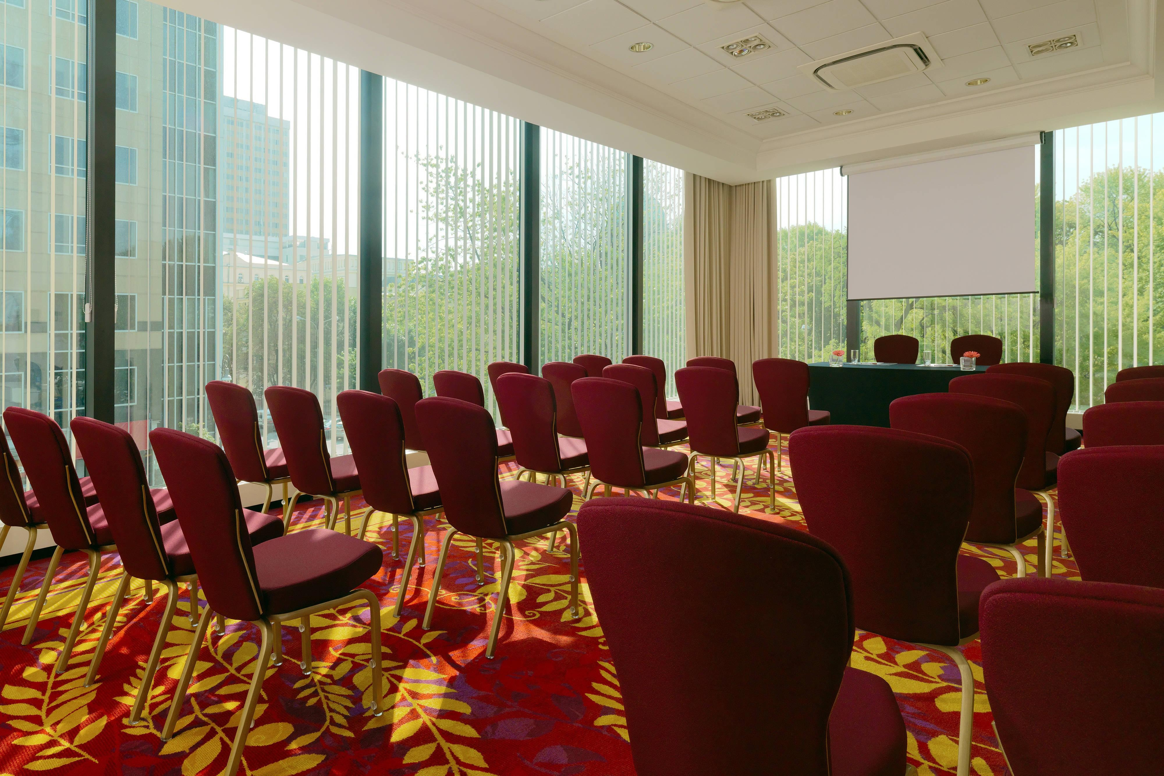 Warsaw meeting room in hotel