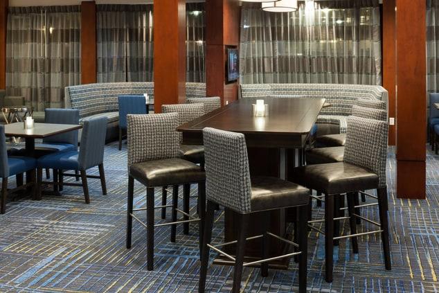 Courtyard Waco Dining Area