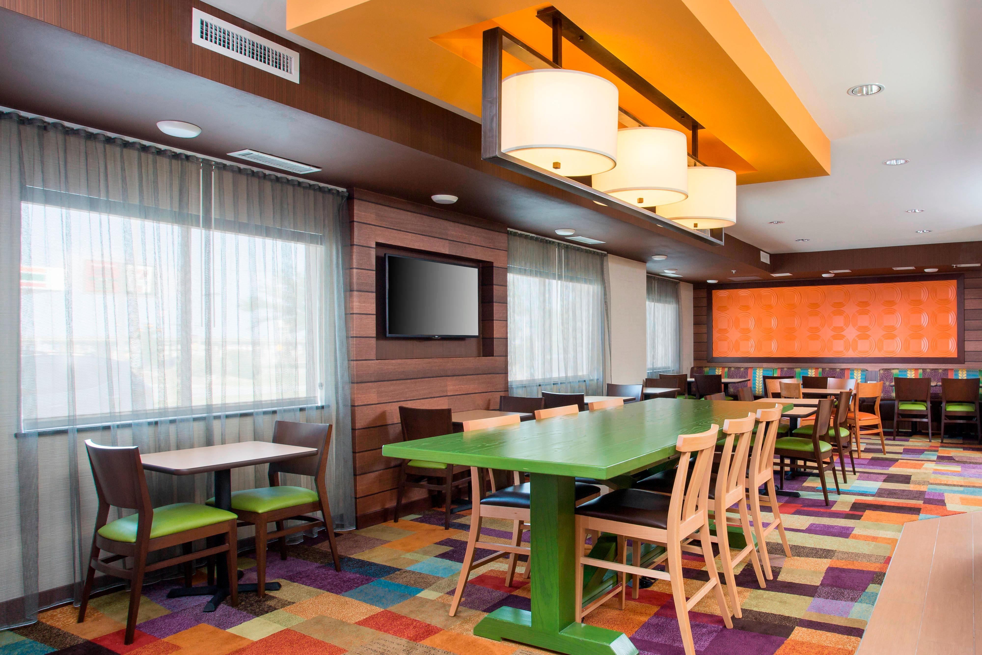 Waco TX Hotel Dining Area
