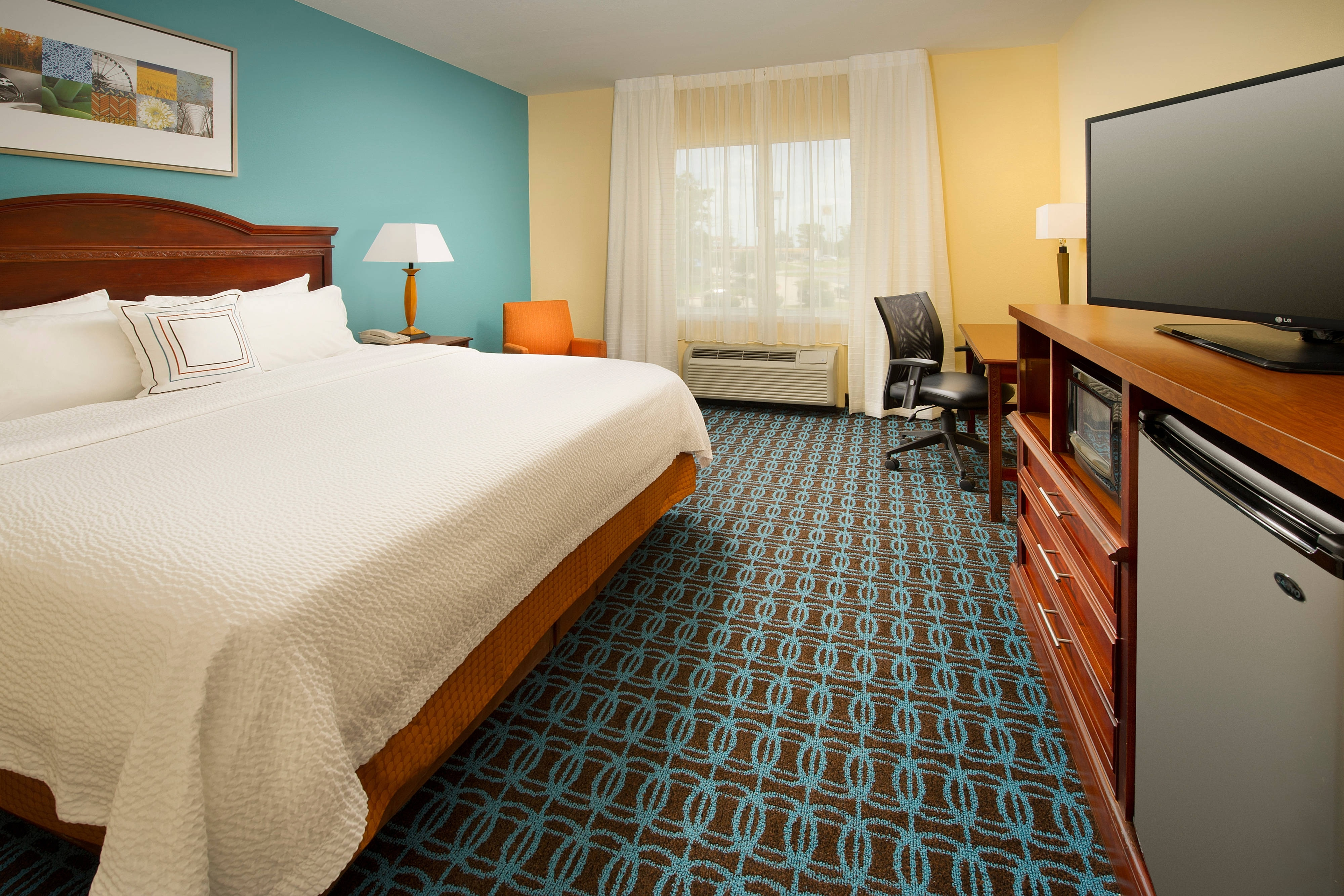 Waco Texas Hotel King Room