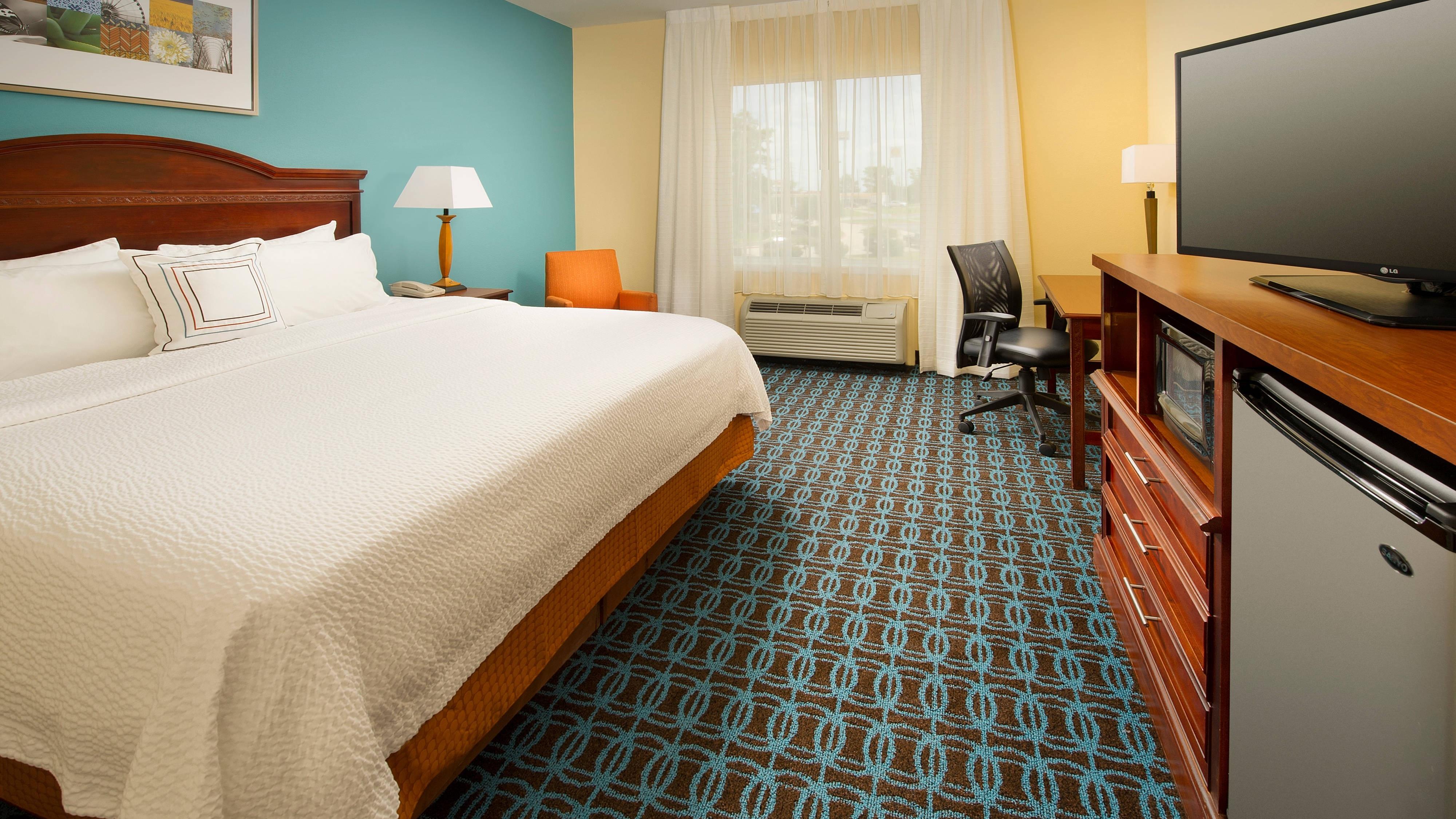 Waco Texas Hotel King Room