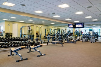 The Westin Riverfront Resort & Spa at Beaver Creek Mountain Athletic Club Weights