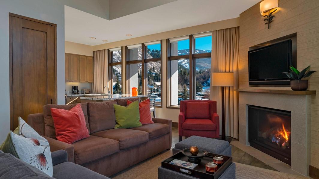 Luxus Suite mit einem Schlafzimmer – Familienzimmer
