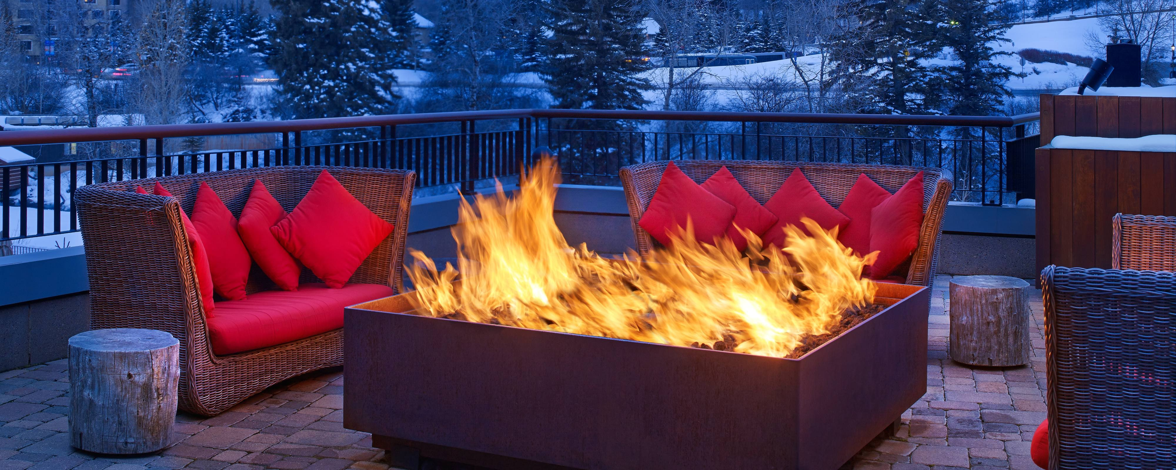 The Westin Riverfront Maya Fire Pits