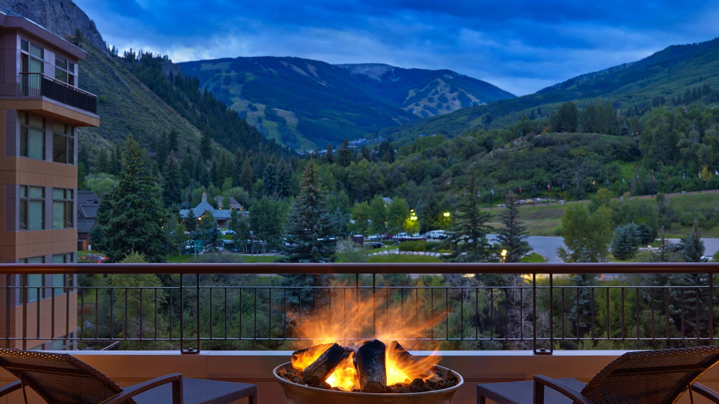 The Westin Riverfront Beaver Creek Fire Pits