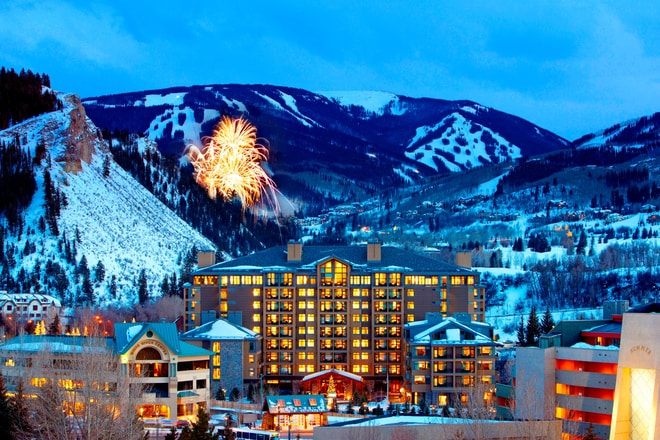 Exteriorwith FireWork in Beaver Creek