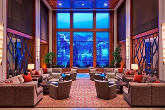 The Westin Riverfront Resort & Spa at Beaver Creek Mountain - Lobby with Scenic View