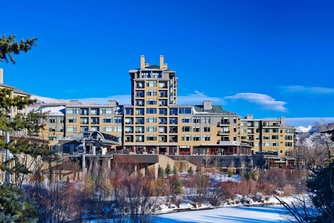 The Westin Riverfront Beaver Creek Gondola
