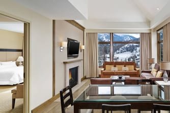 Westin Riverfront Beaver Creek Luxury Suite - Living Room